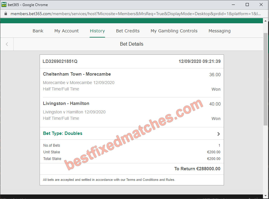 best legit soccer fixed tips today