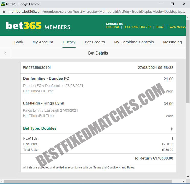 bestfixed matches ht ft