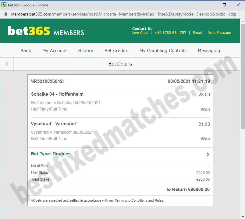best secure fixed matches ht ft