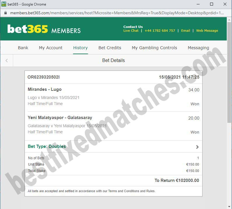 get best fixed matches ht ft